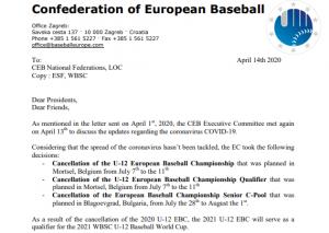 CEB priėmė sprendimus dėl čempionatų